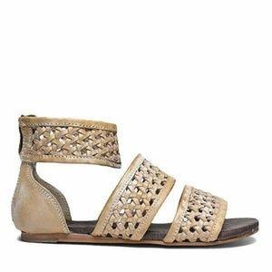 Roan CLIO Sandals SZ 8 Taupe Boho